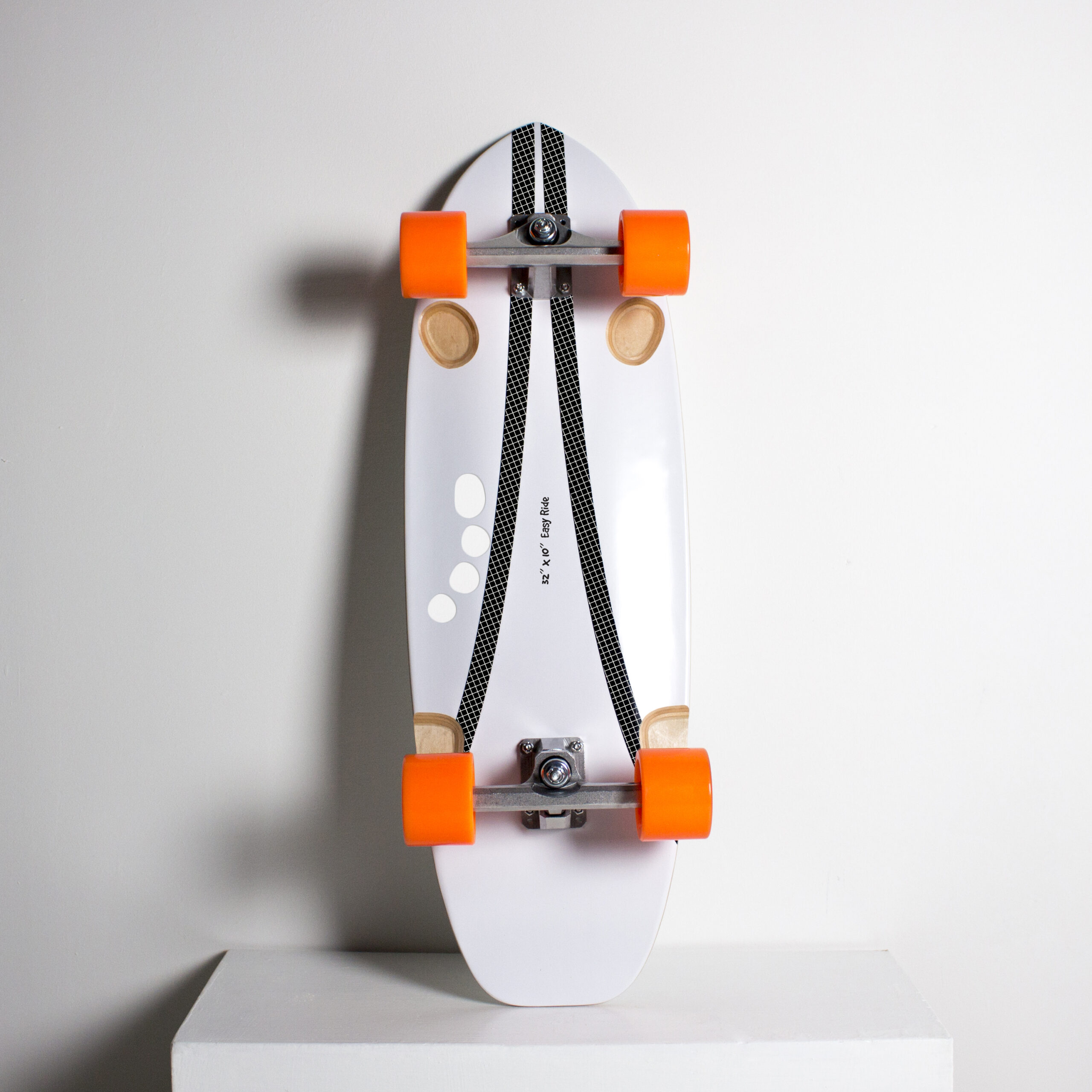 Surfskate easy rider white sotto