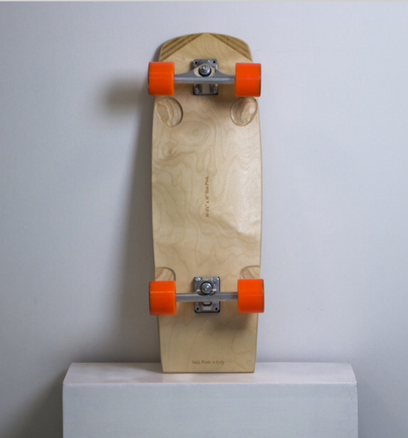 Surfskate Ride Punk Wood edition up